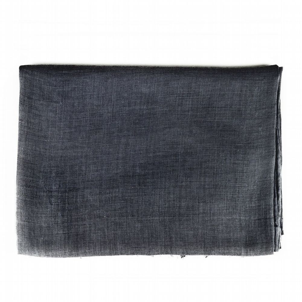 Cotton Scarf - Charcoal